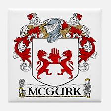 McGurk Coat of Arms Tile Coaster