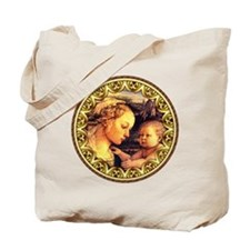 Virgin with Jesus by Lippi Tote Bag