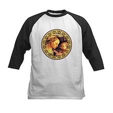 Virgin with Jesus by Lippi Baseball Jersey