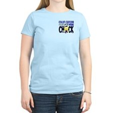 Colon Cancer Messed With Wrong Chick T-Shirt