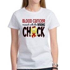 Blood Cancer Messed With Wrong Chick Tee