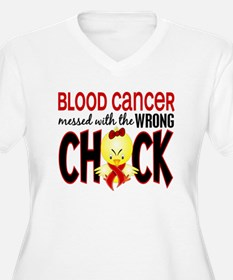 Blood Cancer Messed With Wrong Chick T-Shirt