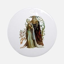 Beauty and the Beast Ornament (Round)
