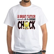Brain Tumor Messed With Wrong Chick Shirt