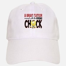Brain Tumor Messed With Wrong Chick Baseball Baseball Cap