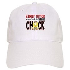 Brain Tumor Messed With Wrong Chick Baseball Cap