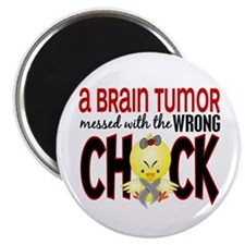 Brain Tumor Messed With Wrong Chick Magnet
