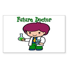 Future Doctor Rectangle Decal