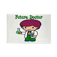 Future Doctor Rectangle Magnet (10 pack)