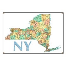 Map of New York State 7 Banner