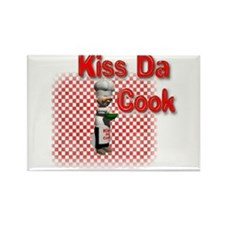 Kiss Da Cook Rectangle Magnet
