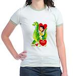 Cave Boy & Dinosaur Jr. Ringer T-Shirt