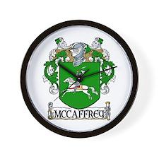 McCaffrey Coat of Arms Wall Clock