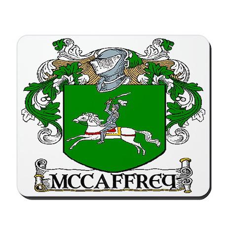 McCaffrey Coat of Arms Mousepad