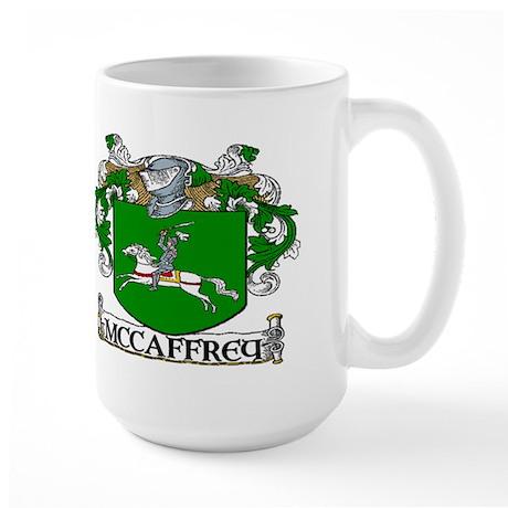 McCaffrey Coat of Arms Large Mug