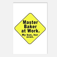 Dad-To-Be:Master Baker! Postcards (Package of 8)