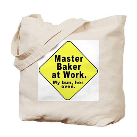 Dad-To-Be:Master Baker! (2-Sided) Tote Bag