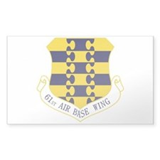 61st ABW Decal