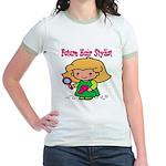 Future Hair Stylist Jr. Ringer T-Shirt