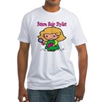 Future Hair Stylist Fitted T-Shirt