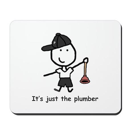 Plumber - P Mousepad