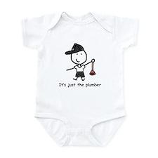 Plumber - P Infant Bodysuit