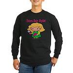 Future Hair Stylist Long Sleeve Dark T-Shirt