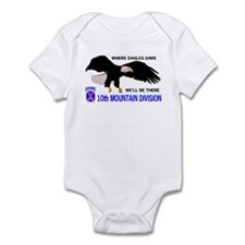 10th MOUNTAIN DIVISION Infant Bodysuit