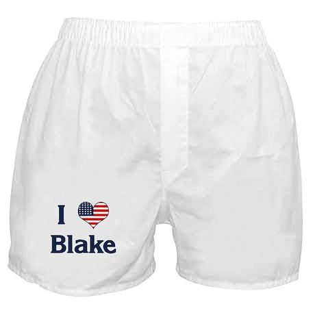 I Love Blake Boxer Shorts