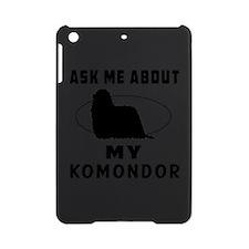 Ask Me About My Komondor iPad Mini Case