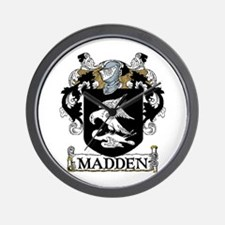Madden Coat of Arms Wall Clock