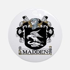 Madden Coat of Arms Ornament (Round)