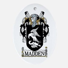 Madden Coat of Arms Oval Ornament