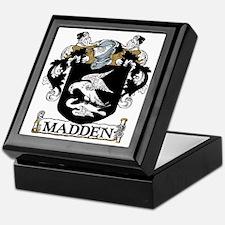 Madden Coat of Arms Keepsake Box