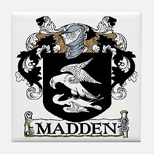 Madden Coat of Arms Tile Coaster
