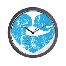 I love whales Wall Clock