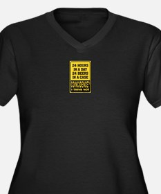24 Hour Beer Plus Size T-Shirt
