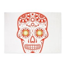 Unique Skull 5'x7'Area Rug