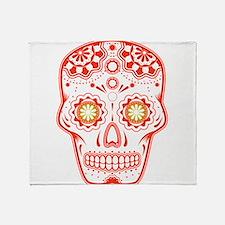 Unique Skull Throw Blanket