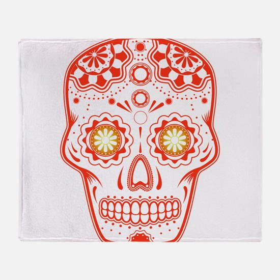 Unique Skull Throw Blanket