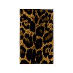 Jaguar Print 3'x5' Area Rug