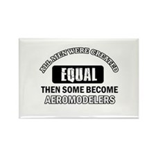 Cool Aeromodellers designs Rectangle Magnet