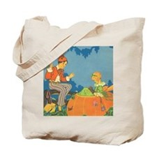 Vintage Nursery Rhyme Tote Bag