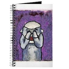 See No Evil Sock Monkey Journal