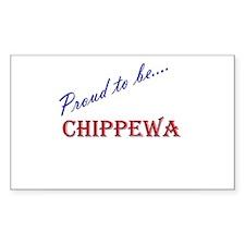 Chippewa Rectangle Decal