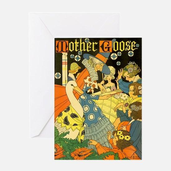 Vintage Mother Goose Greeting Cards