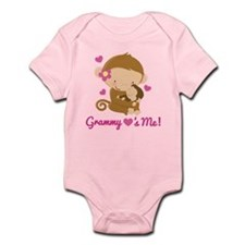 Grammy Loves Me monkey Body Suit