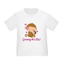 Grammy Loves Me monkey T-Shirt