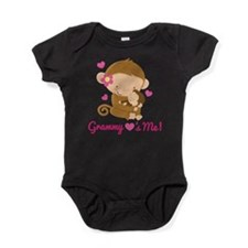 Grammy Loves Me monkey Baby Bodysuit