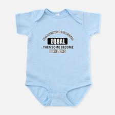 Cool Barbers designs Infant Bodysuit